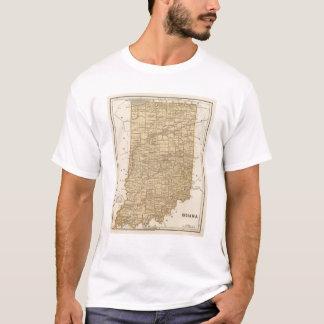 Indiana Atlas Map T-Shirt