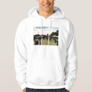 Indiana Ave Boardwalk, Atlantic City Vintage Hoodie