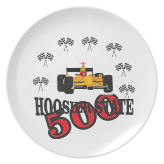 Indiana baby plate