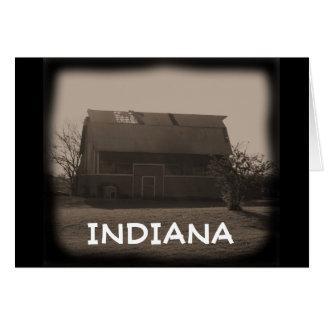 Indiana Barn Card