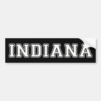 Indiana Bumper Sticker
