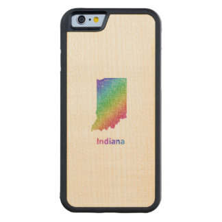 Indiana Carved Maple iPhone 6 Bumper Case