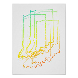 indiana chill blur poster