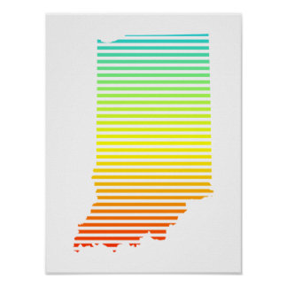indiana chill fade poster