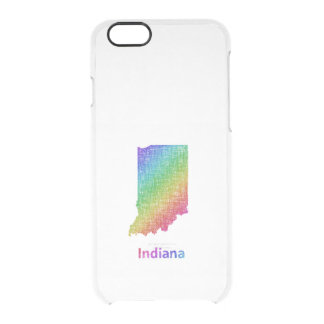 Indiana Clear iPhone 6/6S Case