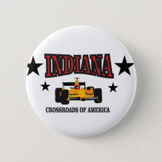 Indiana crossroad 2 inch round button