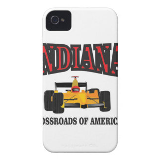 Indiana crossroad iPhone 4 cover