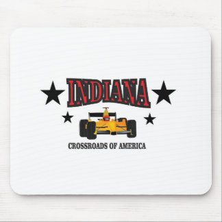 Indiana crossroad mouse pad
