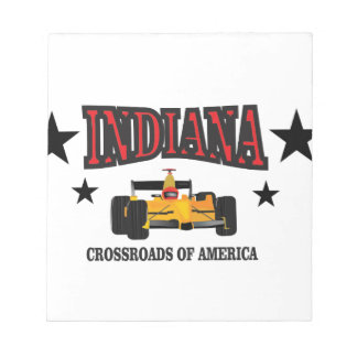 Indiana crossroad notepad