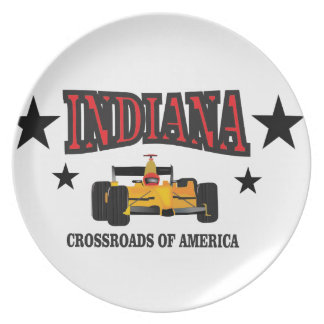 Indiana crossroad plate