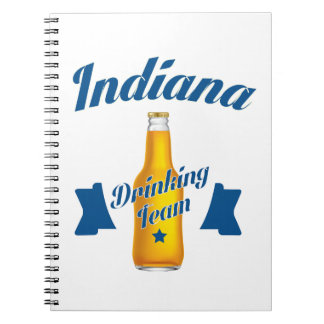 Indiana Drinking team Note Books