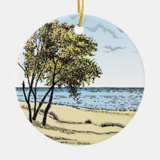 Indiana Dunes Ornament