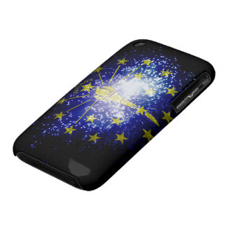 Indiana Flag firework iPhone 3 Case-Mate Cases