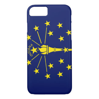Indiana Flag iPhone 7 Case