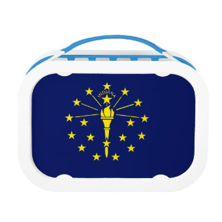 Indiana Flag Lunch Box