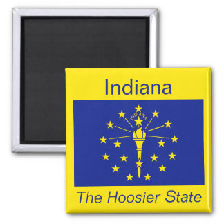 Indiana Flag Magnet