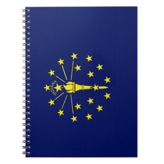 Indiana Flag Notebook