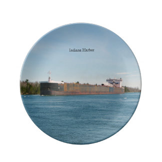 Indiana Harbor decorative plate