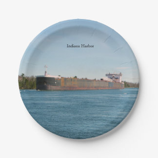 Indiana Harbor paper plate