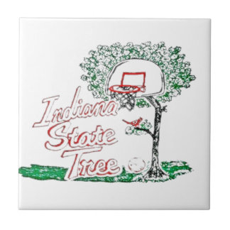 Indiana high school basketball tile