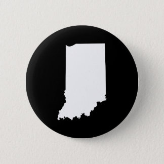 Indiana in White and Black 2 Inch Round Button