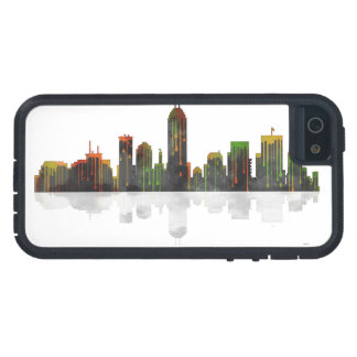Indiana Indianapolis Skyline Case For The iPhone 5