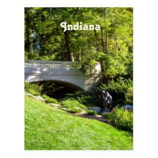 Indiana Landscape Postcard