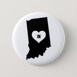 Indiana Love 2 Inch Round Button
