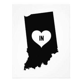 Indiana Love Letterhead