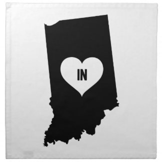 Indiana Love Napkin