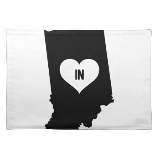 Indiana Love Placemat
