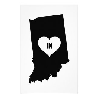 Indiana Love Stationery