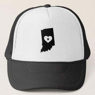Indiana Love Trucker Hat