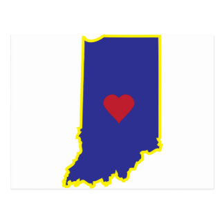 Indiana Luv Postcard