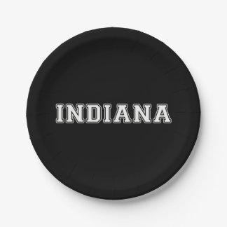 Indiana Paper Plate