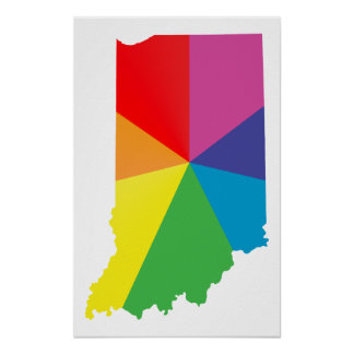 indiana pride. poster