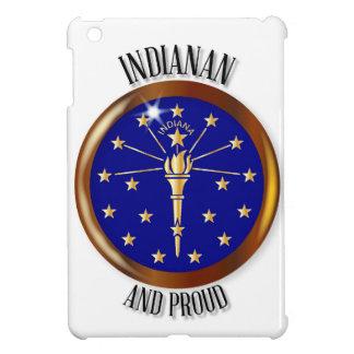 Indiana Proud Flag Button iPad Mini Cover