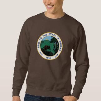 Indiana seal, American state seal Sweatshirt