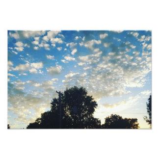Indiana Sky Photo Print