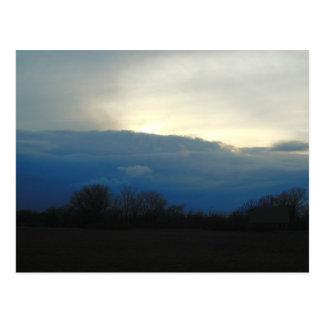 Indiana Sky Postcard