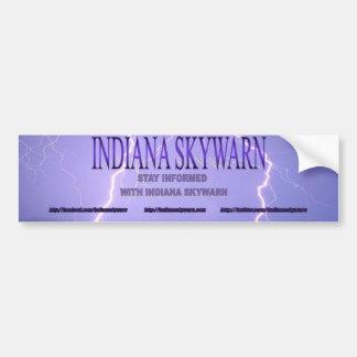 Indiana Skywarn Logo Bumper Sticker
