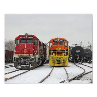 Indiana Southern Railroad Print