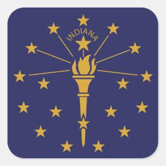 Indiana Square Sticker