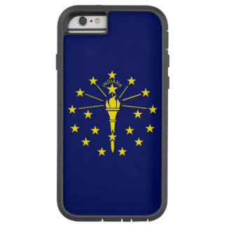 Indiana State Flag Tough Xtreme iPhone 6 Case