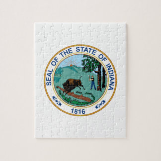 Indiana State Seal Puzzles