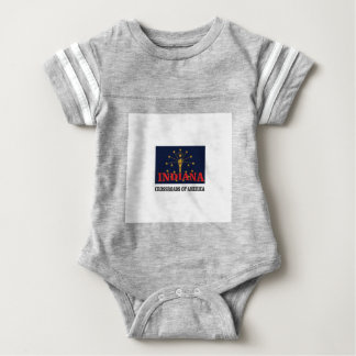 Indiana torch baby bodysuit