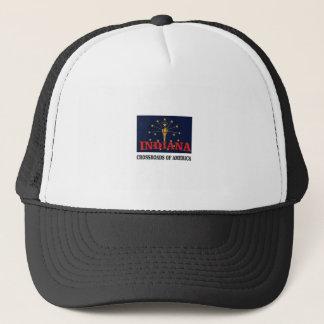 Indiana torch trucker hat