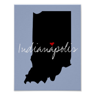 Indiana Town Poster
