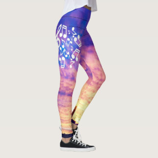 Indiana Winter Sunset Leggings