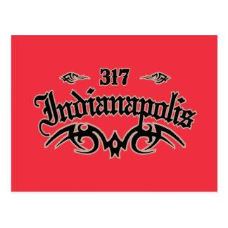 Indianapolis 317 postcard